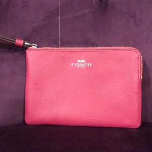 Coach Wristlet - Pink / with Tag